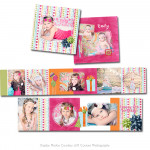 Birthday Bash - Girl Accordion Book