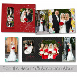 From The Heart 4x8 Accordion Book
