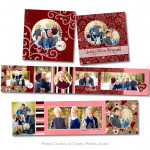 Love Struck 3x3 Accordion Book