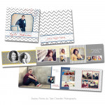 Varsity 3x3 Accordion Book
