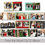 From The Heart 12x12 Album
