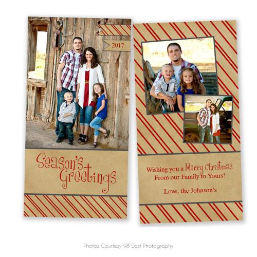 Believe 4x8 Christmas Card 1