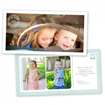 Believe 4x8 Christmas Card 3