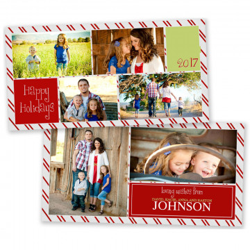Believe 4x8 Christmas Card 4