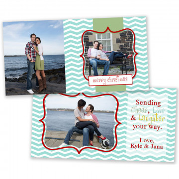 Believe 4x8 Christmas Card 5