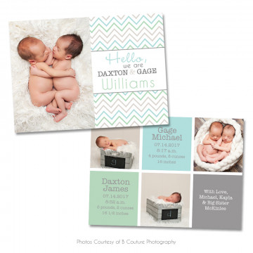 Bundle Of Joy Birth Announcement 1