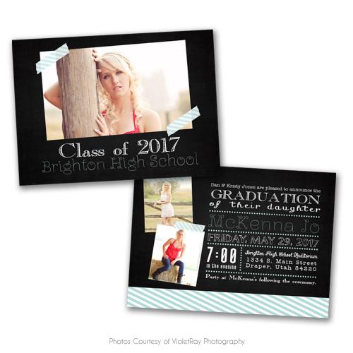 Chalk It Up Grad Announcement 1