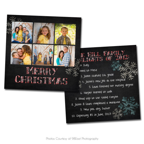 Chalky Christmas Card 1