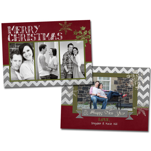 Chalky Christmas Card 2