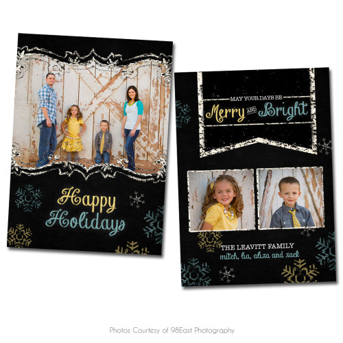 Chalky Christmas Card 3