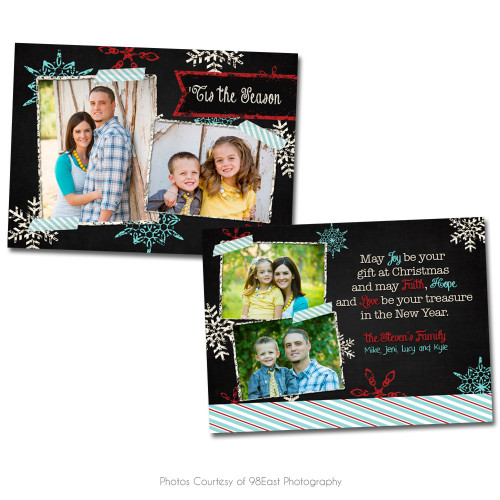 Chalky Christmas Card 4