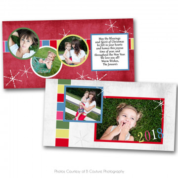 Deck The Halls 4x8 Card 1