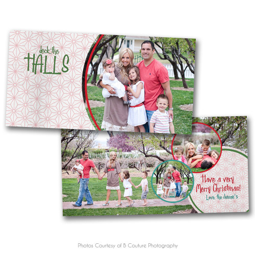 Deck The Halls 4x8 Card 3