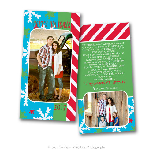 Deck The Halls 4x8 Card 5