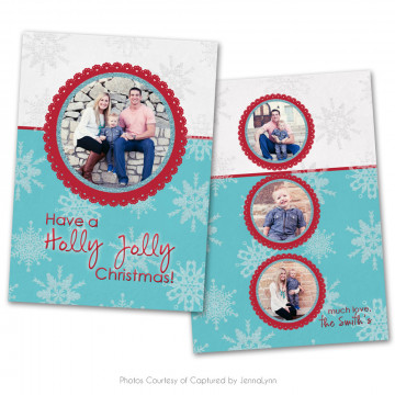 Holly Jolly Card 1