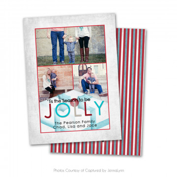 Holly Jolly Card 4
