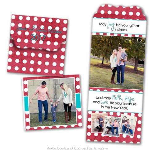 Holly Jolly Folded Luxe Card 2