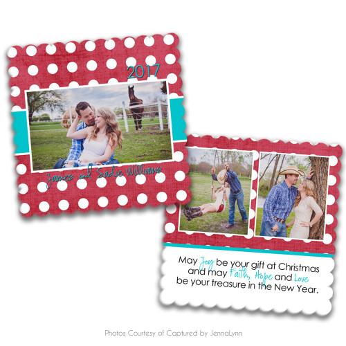 Holly Jolly Luxe Card 2