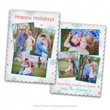 Holly Jolly Luxe Card 3
