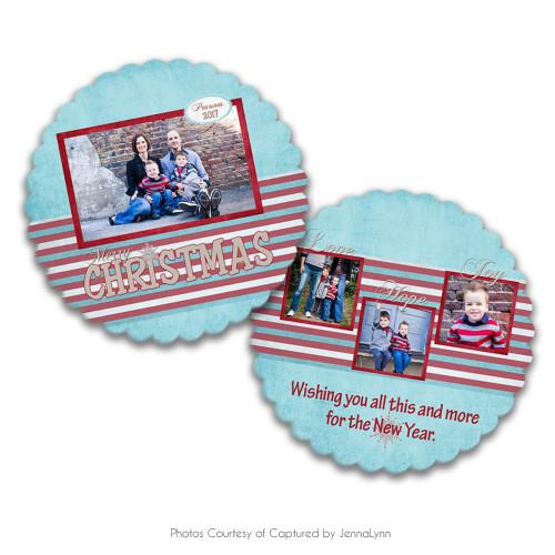 Holly Jolly Luxe Card 5