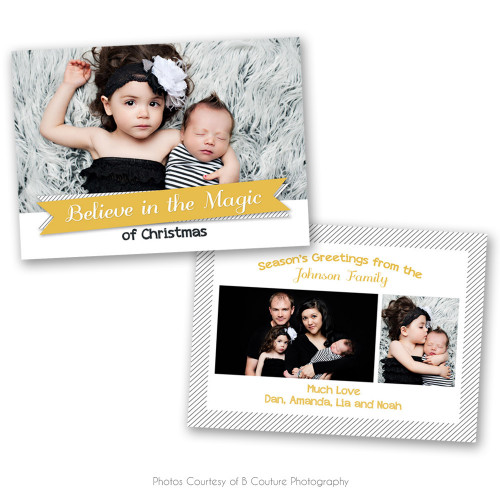 Modern Christmas Card 4