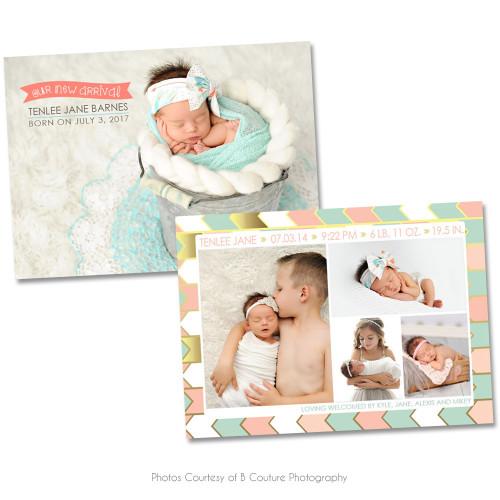 New Arrival Birth Announcement 2