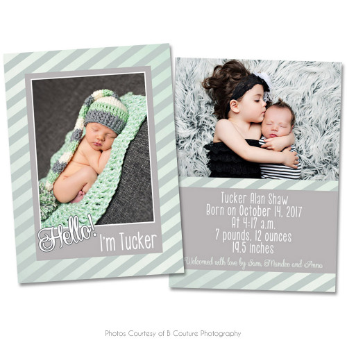 New Arrival Birth Announcement 4