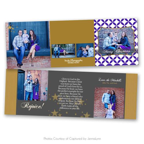 Rejoice Christmas Card 4
