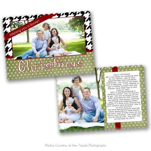 Rockin Christmas Luxe Card 4