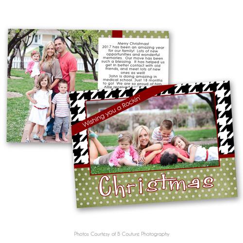 Rockin Christmas Card 4