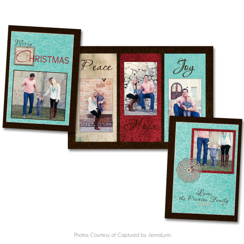 Rustic Christmas Card 3