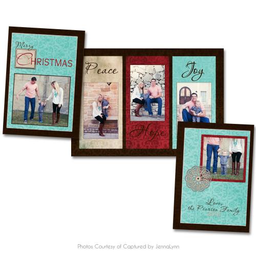 Rustic Christmas Card 3