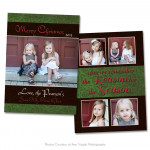 Rustic Christmas Card 4
