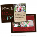 Rustic Christmas Card 5
