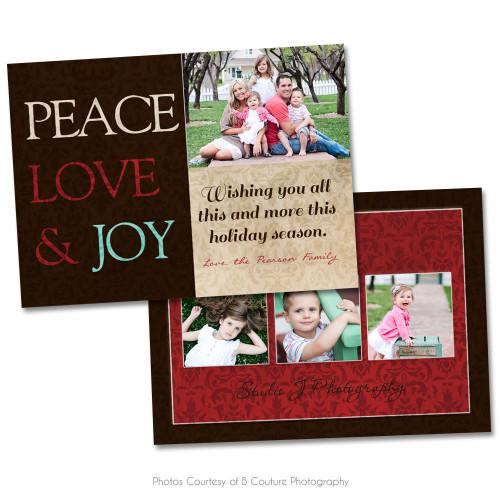 Rustic Christmas Card 5