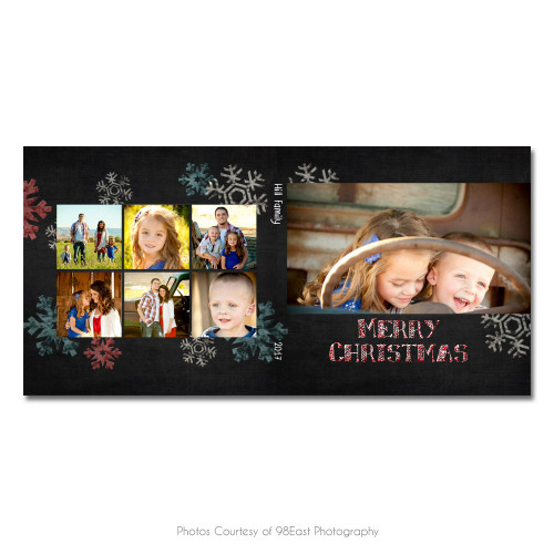 Chalky Christmas CD Case 1