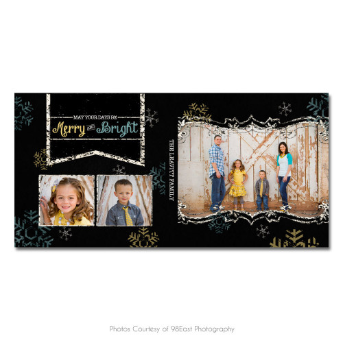 Chalky Christmas CD Case 3