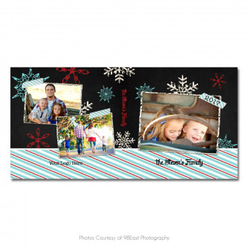 Chalky Christmas CD Case 4