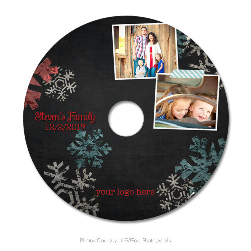 Chalky Christmas CD Label 1
