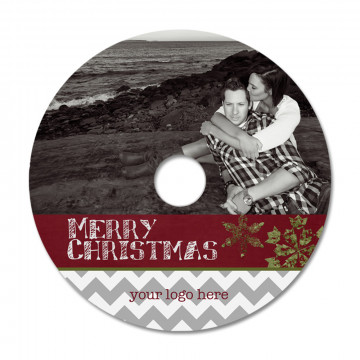 Chalky Christmas CD Label 2