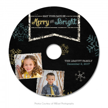 Chalky Christmas CD Label 3