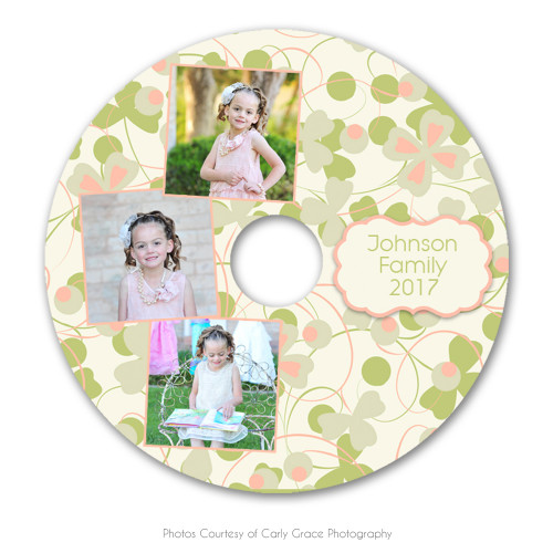 Spring Harmony CD Label 1