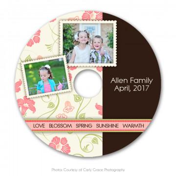 Spring Harmony CD Label 3