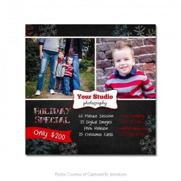 Chalky Christmas Marketing Board 1