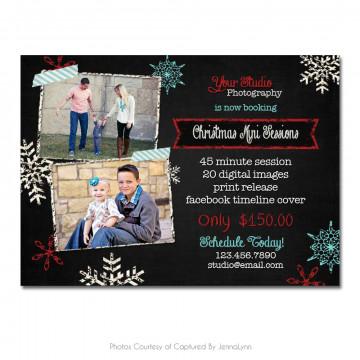 Chalky Christmas Marketing Board 4
