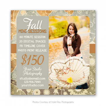 Enchanted Fall Marketing Board 3
