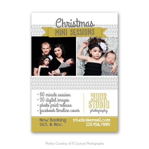 Modern Christmas Marketing Board 2