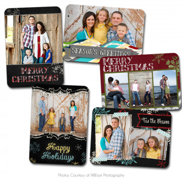Chalky Christmas Wallet Collection